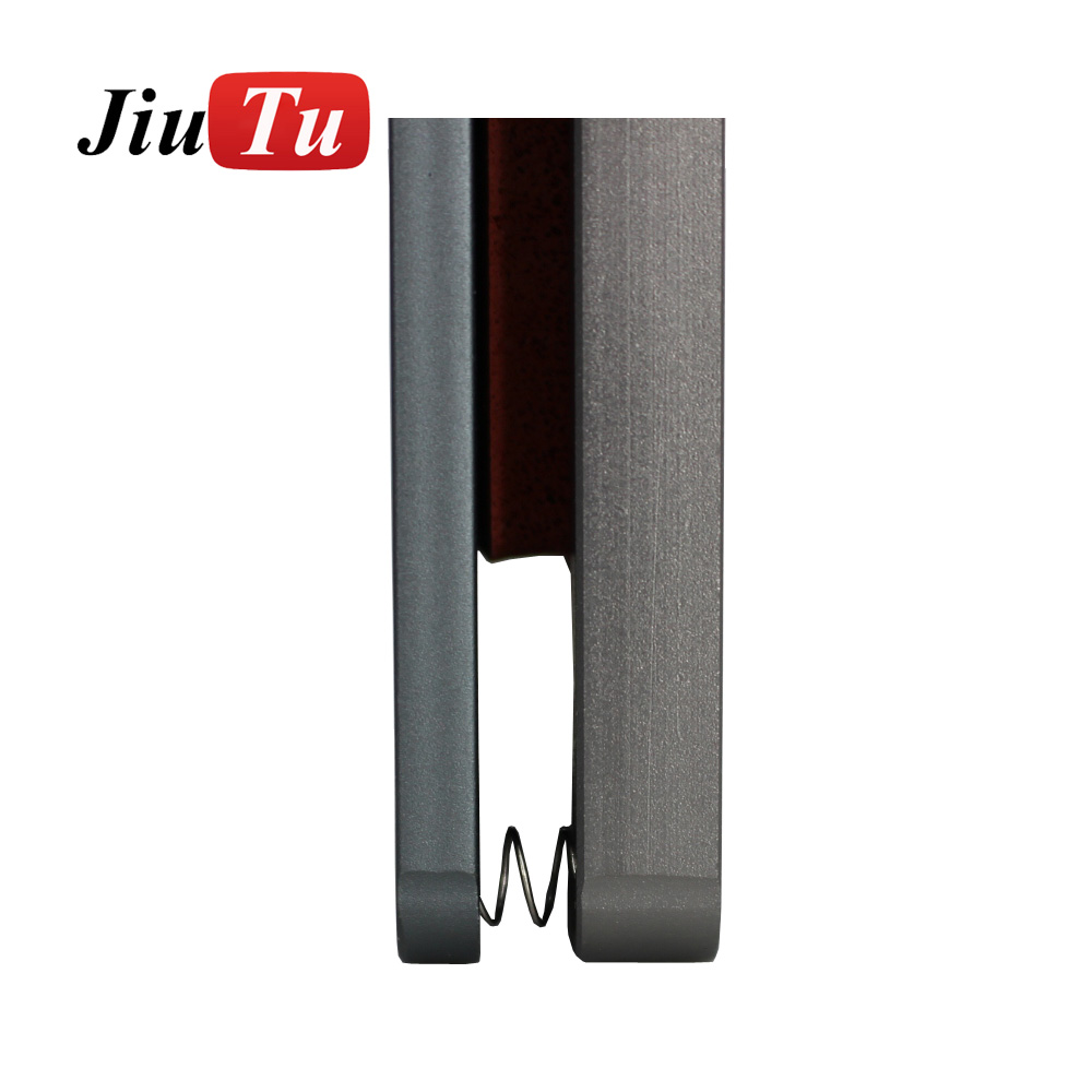 Aluminium Mould For iPhone plusX Laminator mold metal jig Only for the front glass with frame Location for OCA user (8)