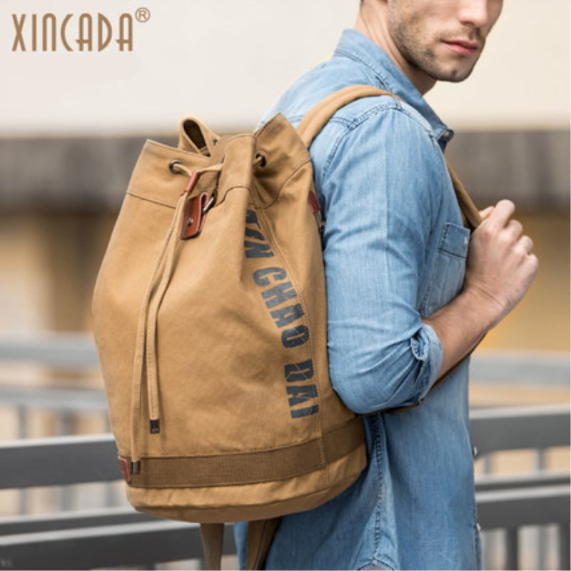 2018 Vintage Canvas Backpacks School Bags Large Capacity Laptop Backpack Men Backpack School Bookbag Rucksack Travel Backpacks xincada men backpack vintage canvas backpack rucksack laptop travel backpacks school back pack shoulder bag bookbag