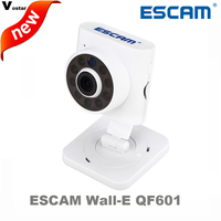 ESCAM QF601 Wifi Mini Ip Camera Built In Miccrophone Motion Detector Email Alarm P2P Onvif Alarm