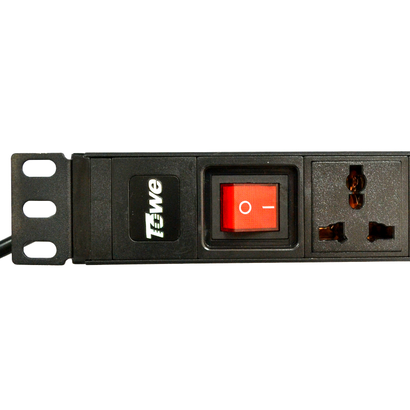 TOWE EN10/W801K 10A 8 WAYS GB1002 Universal With On &off SwitchPDUs 19