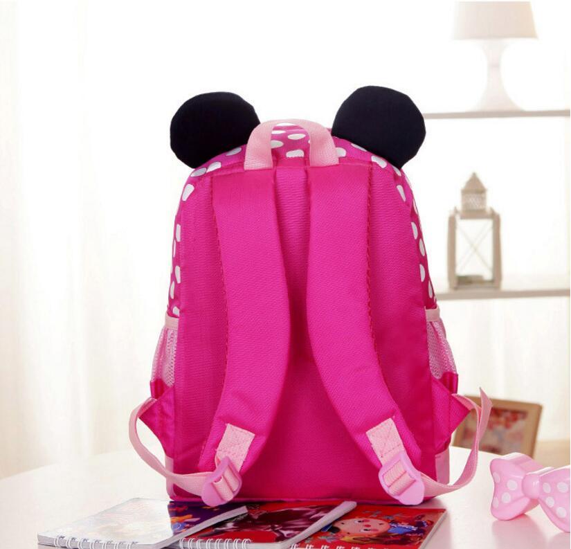 0f2761c472 2018 Cartoon Mickey children backpacks kids kindergarten backpack kid  school bags Satchel for. sku  32854232230
