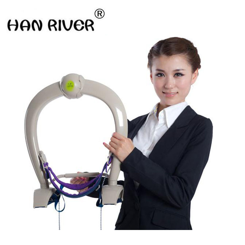 HANRIVER Home traction stretcher therapeutic neck rehabilitation physiotherapy fields neck massager hanriver massager cushion for shakti