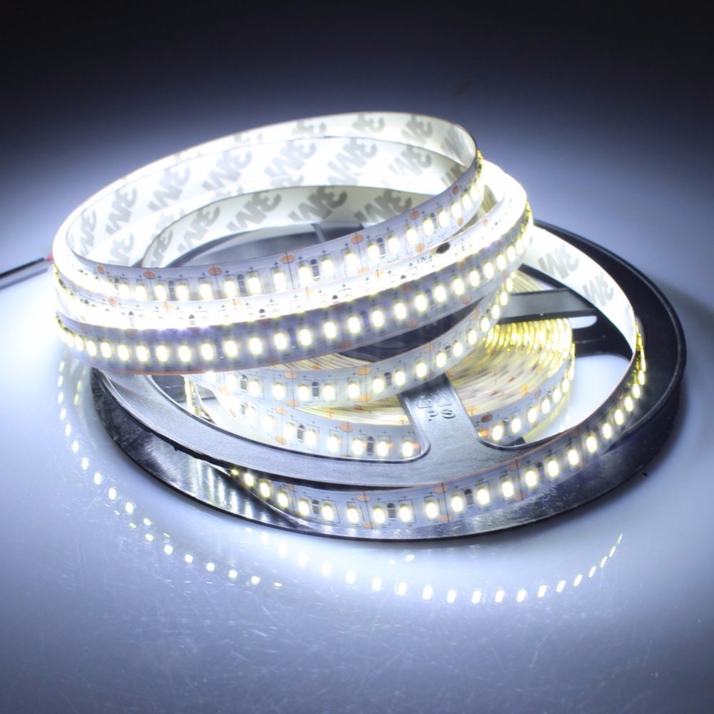 led strip light 3014 smd 1020led 5m waterproof IP65 and Non waterproof IP20 DC 12V 3000K 6500K white warm white 600x3528 smd led 6500k white light flexible strip 5 meter dc 12v