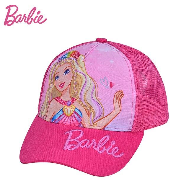 306836245 Barbie 100% Marca Otoño Chica Gorra de Béisbol para Niños Niñas Sun  Sombreros Casquillo de