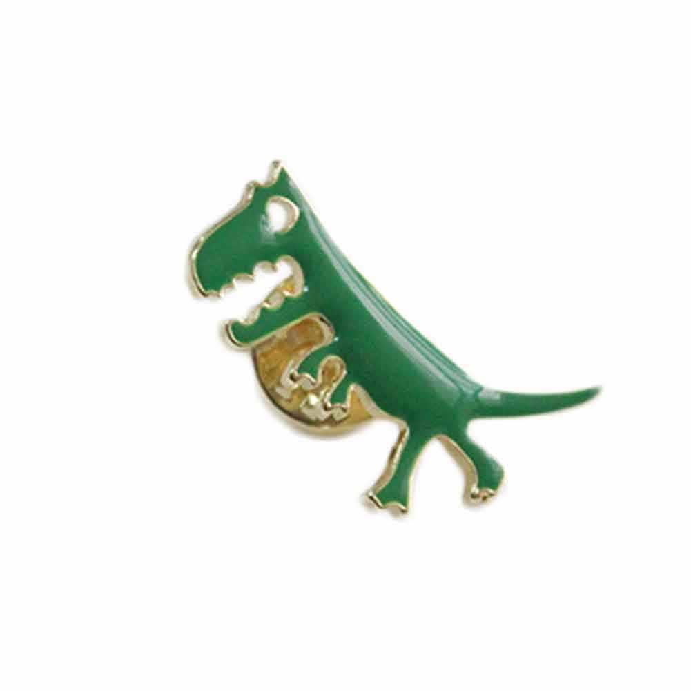 ファッションジュエリーアクセサリーエナメル素敵なメタルドラゴン恐竜バッジボタンピン