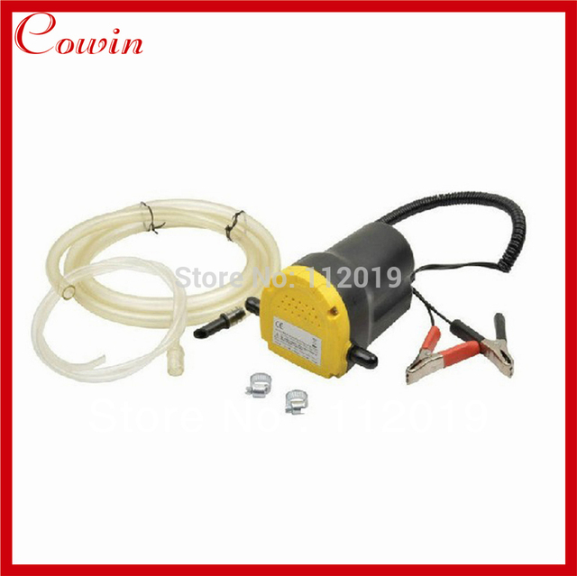 Free Ship Car 12v Electric Oil Extractor Changer Pump Professional Engine Sel Scavenge Suction Transfer
