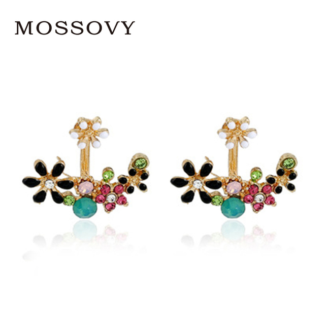 small item with shipping mix colourful free in earrings oil plated wholesale stud from silver ear studs cute designs drawing iron