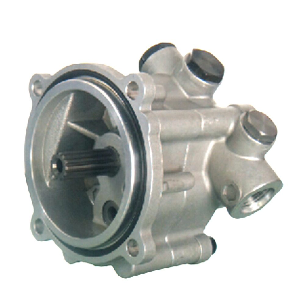 La petite pompe à engrenages de la pompe de Charge Kawasaki K3V112 d'excavatrice partie non. ZX10LGRZ2-07D, 2902440-1852D Kobelco: YN10V00014F2, YN10V00014F3