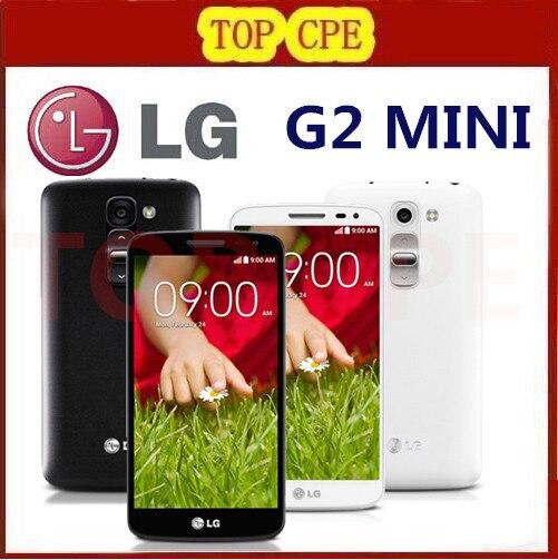 Unlocked LG G2 Mini D620 Original Cell phone Quadl Core 4.7″ Capacitive Screen 8MP Camera 1G RAM 8G ROM 3G 4G Android Phone