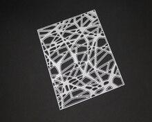 AZSG mesh background Metal diy mould/scrapbooking dies metal stamps and 2019