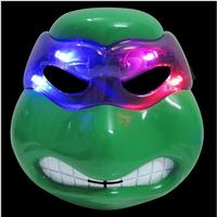 Halloween Party Cosplay di Colore Verde Cosplay Ardore Del Fumetto Teenage Mutant Ninja Turtles Maschera Occhi Make up Giocattolo per Bambini Ragazzi