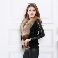 Sexy ladies elegant Faux fur coat Women Vest Sleeveless Coat Outerwear Long Hair Jacket Waistcoat TW 2017 best for winter