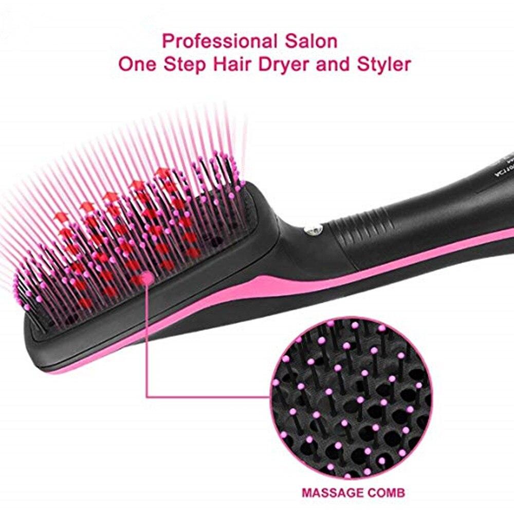 secador de cabelo curling ferro rotativa escova