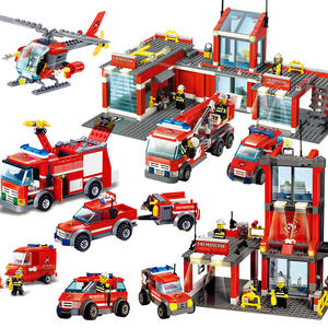 AUSINI City sets building blocks trucks car kids bricks
