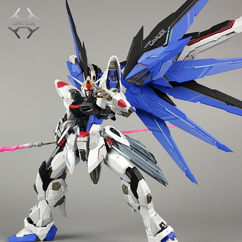 COMIC CLUB IN STOCK WUMING model MOKAI MB metal build Gundam freedom contain light base action