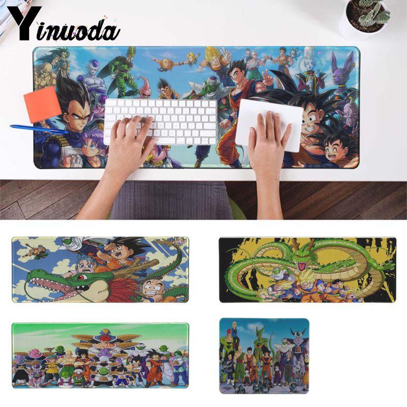 41f5392cf0606 Yinuoda Dragon Ball z Japan anime Keyboards Mat Gaming mousepad Desk Mat Pad  To Mouse Notbook Computer Cool Gamer Pad mouse