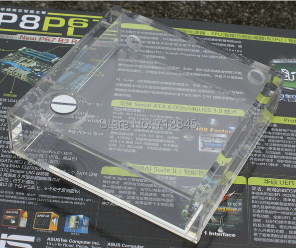 Купить с кэшбэком New universal Full transparent optical drive Water tanks acrylic free shipping
