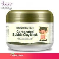 Bioaqua cura della pelle trattamento maschera di sonno sbiancamento idratazione adesivi pulizia punti neri rimozione cosmetici maschere per il viso anti invecchiamento