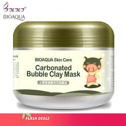 Bioaqua уход за кожей сна ухаживающая отбеливающая маска гидратации наклейки очищающий средство для избавления от черных точек Косметика