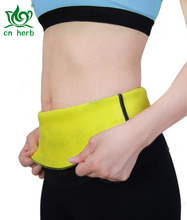 CN Herb Hot Slimming Wraps Thermo Sweat Neoprene Shapers Belt Waist Cincher Girdle For Women Men Weig