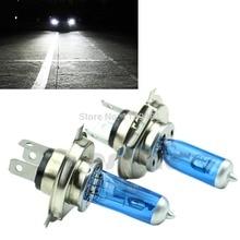 цена на Hot 2x Super White H4 100W 9003 HB2 Bi-Xenon HID High Low Beam Headlight Bulb 6000K