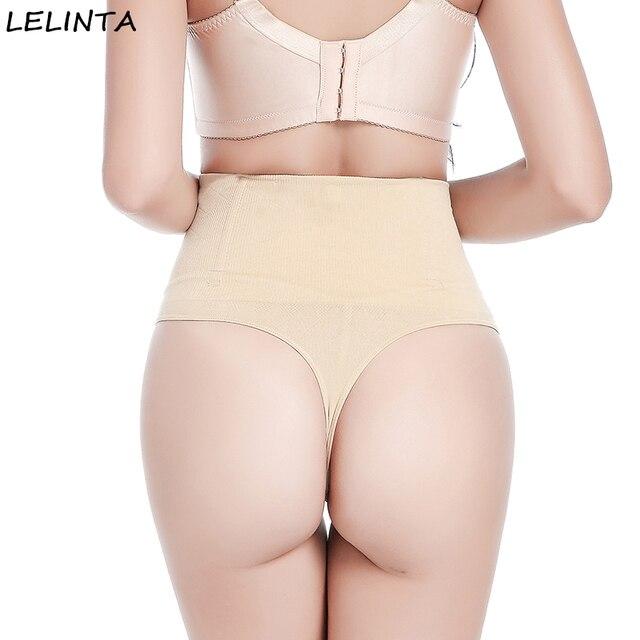 4d7ed8e0fae076 LELINTA Women Steel Boned Waist Cincher Girdle Panties Tummy Control Slimmer  Sexy Seamless Thong Panty Shapewear Underwear
