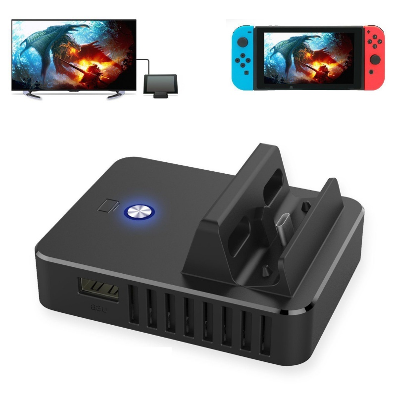 Multifunction Dock Base Stands For Nintend Switch Host TV HDMI Charging Stand Switch Cooling Portable Stand For Nintend Switch recur toys original design jurassic dinosaur stegosaurus soft pvc animal model hand painted action figure toy gift collection
