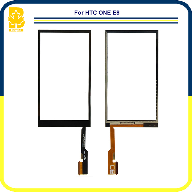"""Replacement Parts 5.0"""" High Quality For HTC one E8 Touch Screen Digitizer Front Glass Panel Sensor Highscreen Black"""