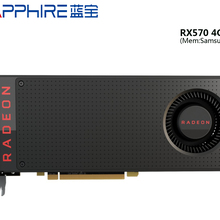 USED,Sapphire RX 570 4G graphics cards 7000MHz GDDR5 256bits