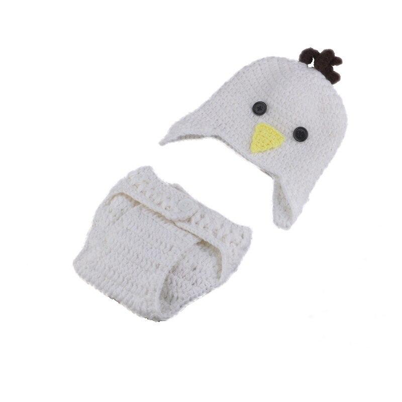 Últimas ganchillo conejo de Pascua y pollo traje de punto bebé ...