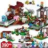 4Pcs Set Minecraft Sword Espada Models Figures Building Blocks Model Set Figures Compatible Legolas Minecraft Toys