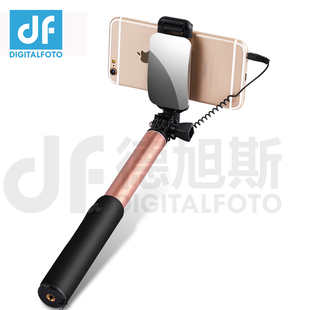 DIGITALFOTO Gopro 3+ 4 action camera selfie stick mirror remote Smartphone Selfie Stick mobile phone handheld monopod for Iphone