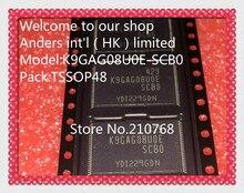 10 unidades/lote K9GAG08U0E SCB0 K9GAG08UOE TSOP48