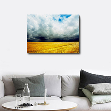 Laeacco Canvas Painting Calligraphy Countryside Posters and Prints Wall Art Home Decor Kitchen Dining Room Decoration