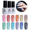 1 Bottle BORN PRETTY Soak Off Gel Polish 5Ml Fur Effect Nail Art UV Gel Polish Winter Style Manicure 12 Colors