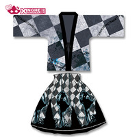Milky Way Black Rock Shooter japanese womens Haori traditionnel kimono Harajuku cardigan harajuku Haori Coat Yukata