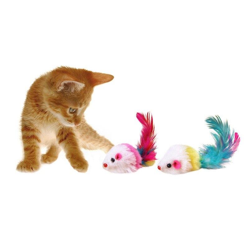 Hot Pet chats jouet fausse souris jouets drôles pour chat doux polaire chats jouets non-toxique jouet Pet fournitures nouveau