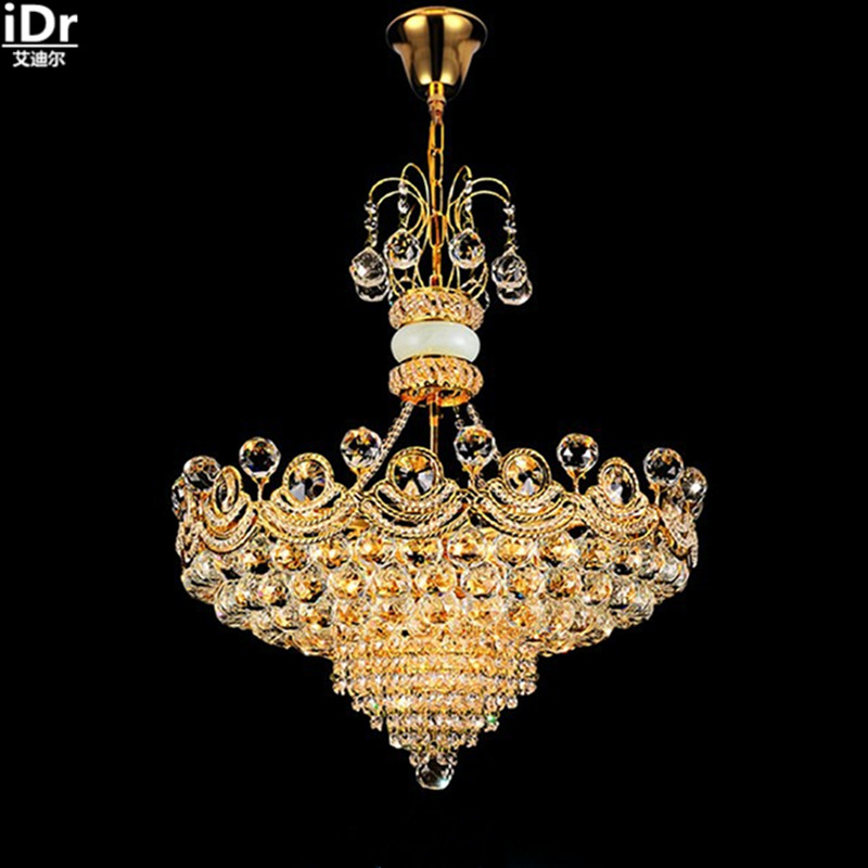 Dining Room Chandeliers Traditional Crystals: European Luxury Fashion Crystal Lamp Living Room Modern