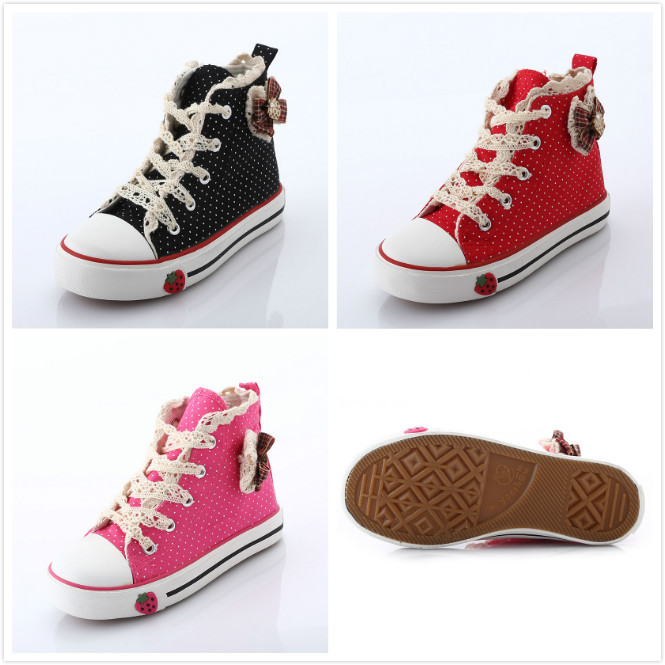 0918764c6eb783 Children Girls Shoe Sneakers Canvas Breathable Rubber Sole Kids Girl Basketball  Trainers Jordans Soccer Running Sport Shoes