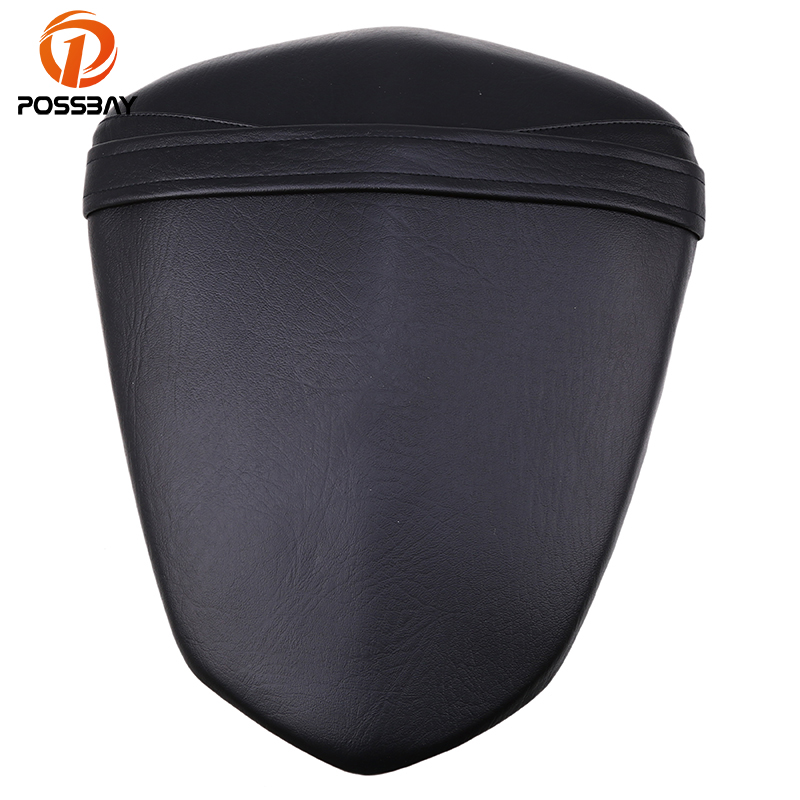 POSSBAY ABS Plastic Leather Motorcycle Rear Seat Cover Cushion Pillion For Yamaha YZF R1 2009 2010 2011 2012 2013