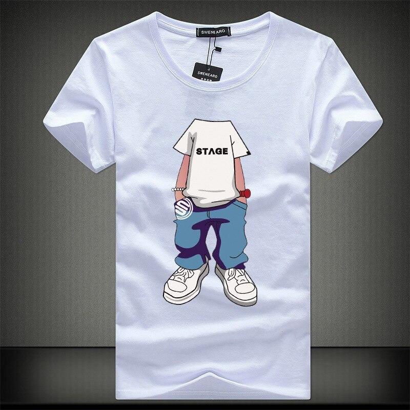 SWENEARO 2020 Men T-Shirts O-Neck T Shirt Homme Summer Short Sleeve T Shirts Fashion Brand Men's Tee Shirts Man Clothes Camiseta