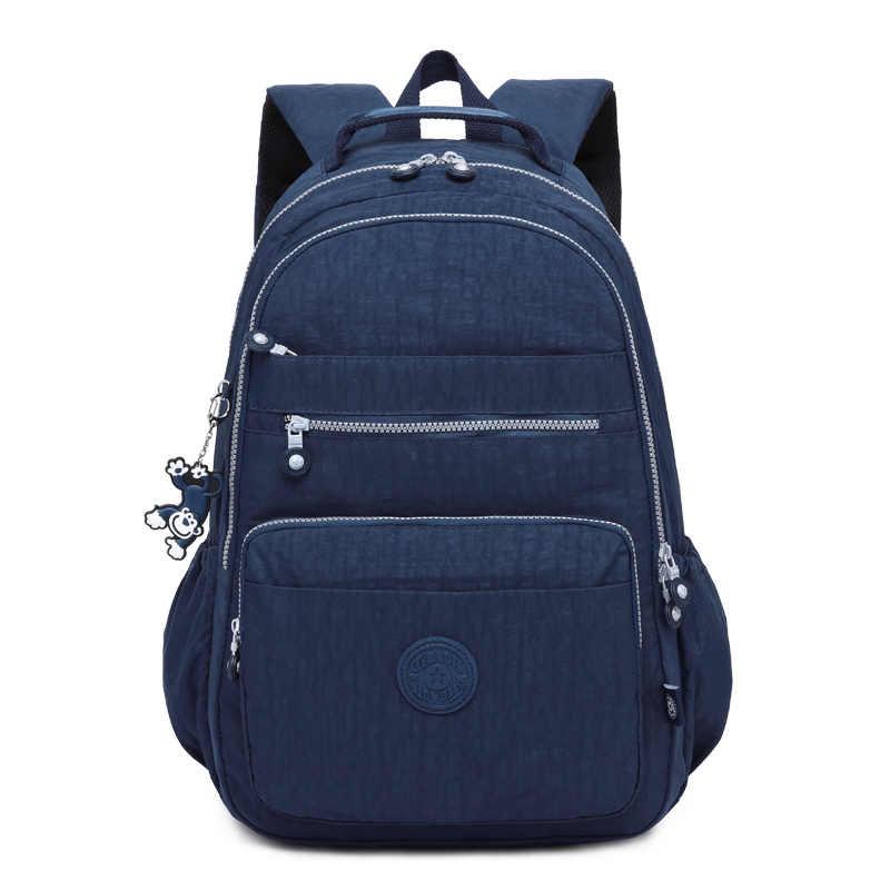 TEGAOTE 2019 女性バックパック十代の少女 Kipled ナイロンバックパック Mochila Feminina 女性旅行 Bagpack 通学女性バッグ
