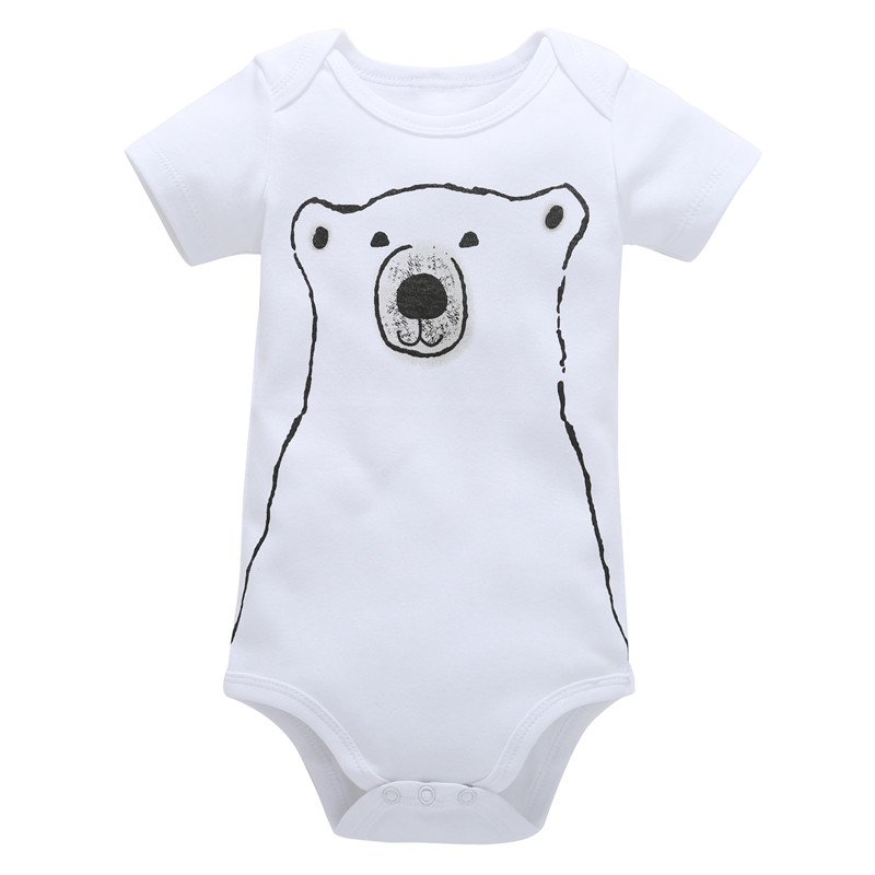 0-18M Newborn Boys Rompers Toddler Girls Romper Clothing Cotton Unisex Jumpsuit Infant Sum