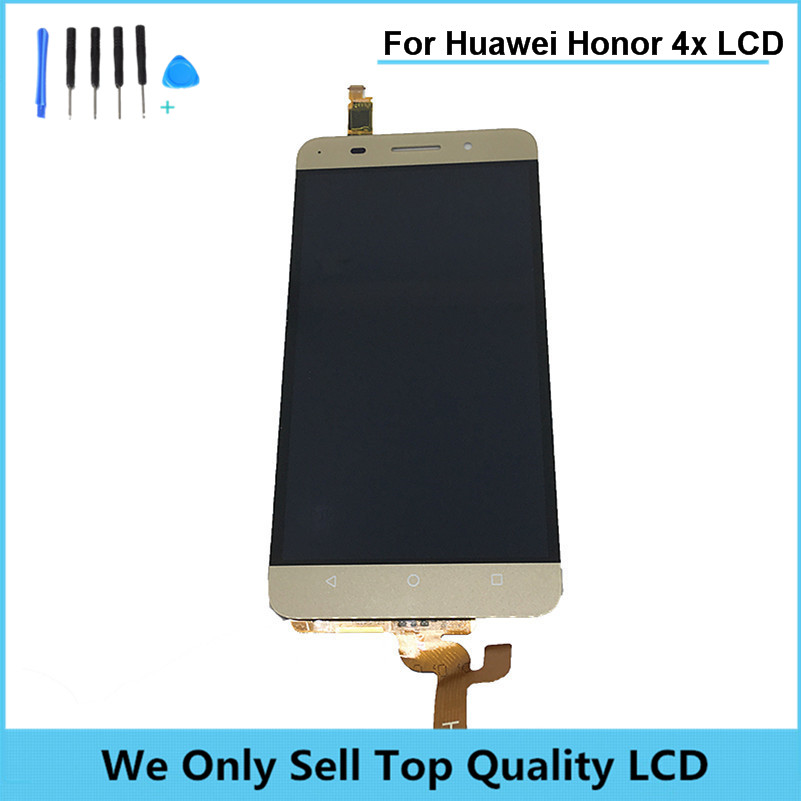Подробнее о Replacement LCD For Huawei Honor 4X Smart Phone LCD Display with Touch Screen Glass digitizer assembly Free Shipping+ Tools replacement parts phone lcd display for huawei honor 4c lcd touch digitizer assembly for huawei honor 4c screen lcd display