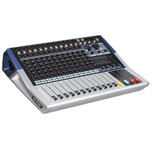 Mixing console recorder 48 V phantom power monitor AUX effect path 6-16 channel audio mixer USB comes with power amplifier KV
