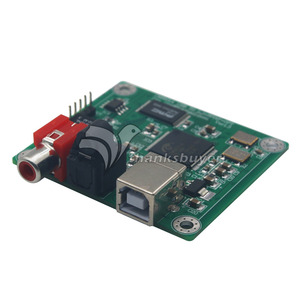 Image 4 - TZT CM6631A 24bit/192khz USB to Coaxial and Optical fiber SPDIF and I2S by LJM New version