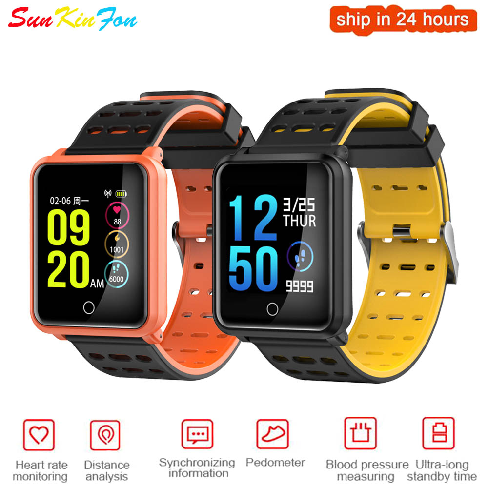 123013c169f D88 Bluetooth Smart Watch Android Smartwatch Waterproof Heart Rate Tracker  for Samsung HTC Sony LG HUAWEI ZTE OPPO XIAOMI Lenovo