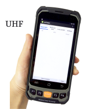 4.7 Inch Touch Screen Android 5.1 Handheld Data Collector Terminal Android Handheld UHF RFID reader with 4G WiFi Bluetooth GPS