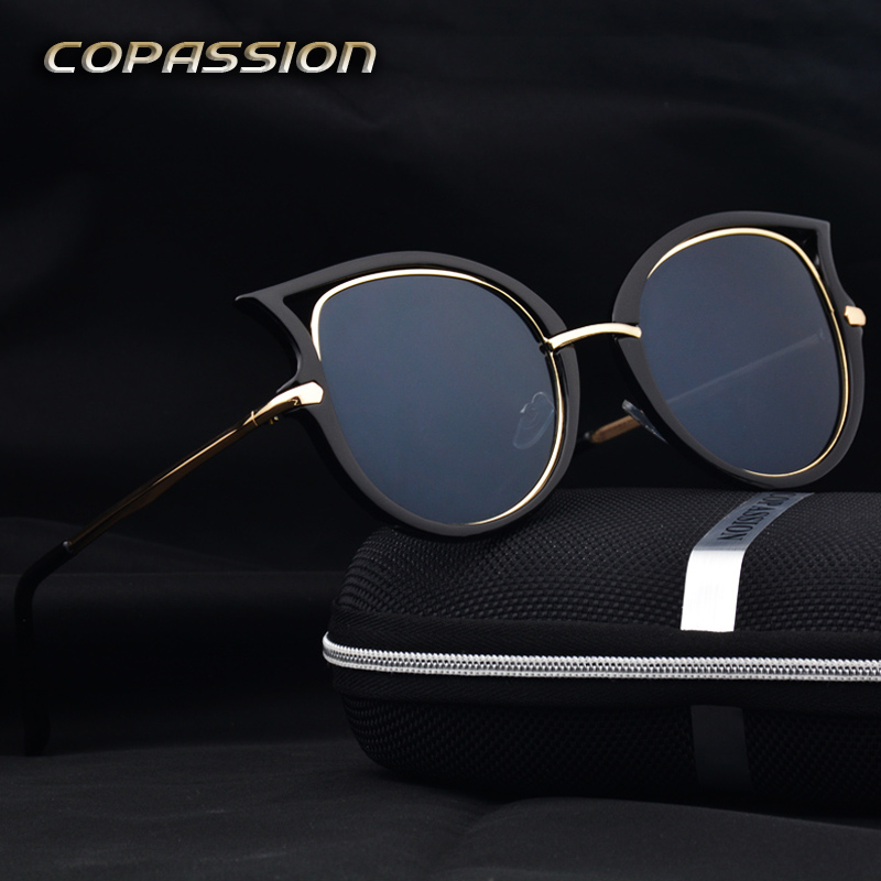 cat eye sunglasses women brand designer outdoor ladies sun glasses driver uv400 Eyewear  ...