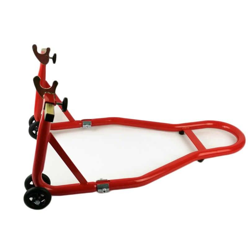 HZYEYO komplet motocyklowy przednie koło i tylne koło podpórka stojak na koło Auto Aheel wspornik do naprawy opon narzędzie